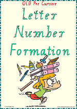 Year 2 | Handwriting | Letter – Number  Formation| Charts | QLD PreCursive