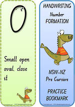 Year 2  Handwriting | Terminology | Bookmark | Number | Cards | NSW-NZ Pre Cursive