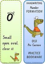 Year 2  Handwriting   Terminology   Bookmark   Number   Cards   QLD Pre Cursive