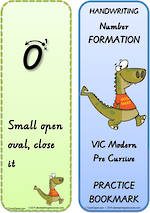 Year 2  Handwriting | Terminology | Bookmark | Number | Cards | VIC Pre Cursive