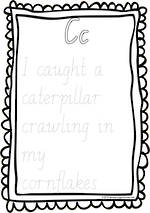 Year 2  Handwriting | Practice | Create | Alliteration Poster | NSW-NZ Pre Cursive