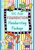 Foundation | Handwriting Programme | PACKAGE | VIC Print