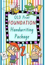 Foundation | Handwriting Programme | PACKAGE |  QLD Print