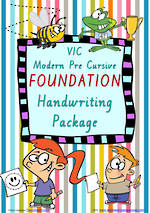 Foundation | Handwriting Programme | PACKAGE | VIC PreCursive