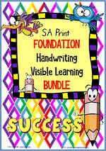 Foundation Handwriting | Visible Learning | BUNDLE | SA Print