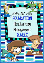 Foundation Handwriting | Management | BUNDLE | NSW-NZ Print