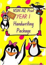 Year 1 | Handwriting Programme | PACKAGE | NSW-NZ  Print