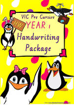 Year 1 | Handwriting Programme | PACKAGE | VIC Pre Cursive