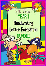 Year 1 | Handwriting | Letter Formation | BUNDLE | VIC Print