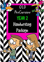 Year 2 | Handwriting Programme | PACKAGE | QLD PreCursive