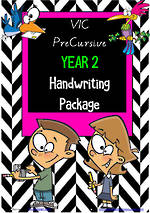 Year 2 | Handwriting Programme | PACKAGE | VIC PreCursive