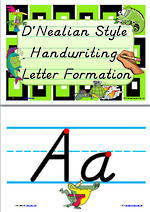 Handwriting | Letter Formation | Display | D' Nealian Manuscript