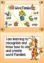 Phonics | Word Families | Beginning with U