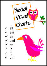 Medial Vowel | Word Charts