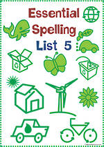 Essential Spelling | List 5 | Activities