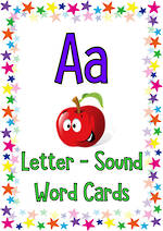 Letter Aa | Words | Cards