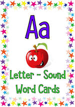 Letter Aa | Word | Cards
