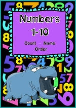 Numbers 1-10 | Learning Intention Chart and Cards