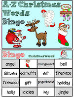 A-Z | Christmas Words | Bingo