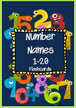 Number Words 1-20 | Cards