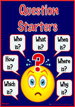 Question Starters | Literal Questioning | Present Information