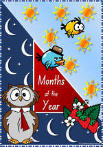 Months of the Year  NSW-NZ Print   Cards