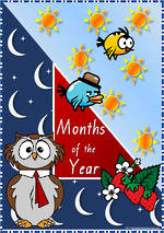 Months of the Year   VIC Print    Cards