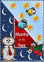 Months of the Year   National First Style   Cards