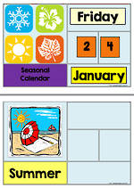 Seasons | AUS-NZ Calendar | Charts