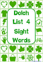 Sight Words |  Dolch Grade 2 | List 4 | Cards