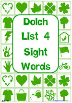 Sight Words |  Dolch Grade 2 | List 4 | Cards | QLD Print
