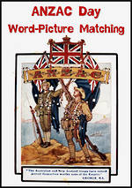 ANZAC Day | Word-Picture | Matching | Cards