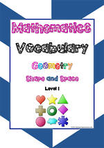 Mathematics Vocabulary | Geometry | Shape & Space| Level  1 | Tiles