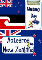 Waitangi Day | Vocabulary | Cards