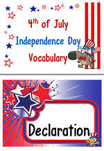4th of July | Independence Day | Word | Charts