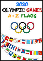 2020 Tokyo Olympic Games | Competing Countries | A-Z | Flags