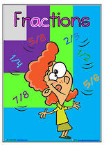 Fractions | Shapes | Words