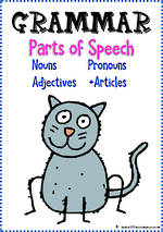 Parts of Speech | Nouns, Pronouns, Adjectives Plus Articles