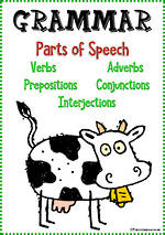 Parts of Speech | Verbs, Adverbs, Prepositions, Conjunctions & Interjections