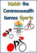 Gold Coast 2018 | Commonwealth Games | Sport | Noun – Verb | Cards - Set 3