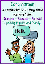 Simple Conversation | Greetings - Business - Farewell