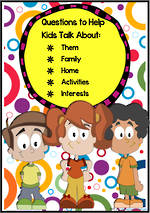 Developing Conversation | Questions to Help Kids Talk
