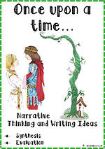 Once upon a time | Narrative | Critical & Creative Thinking | Writing Prompts | Set 3