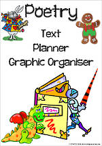 Poetry Writing | Text Planner | Graphic Organiser | Chart