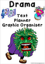 Drama Writing | Text Planner | Graphic Organiser | Chart