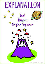 Explanation Writing | Text Planner | Graphic Organiser | Chart