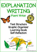 Explanation Writing | Learning Intentions and Self Reflection | Fluent Writer