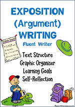 Exposition (Argument) Writing | Learning Intentions and Self Reflection | Fluent Writer