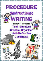 Procedure Writing | Text Structure | Self-Reflection | Fluent Writer