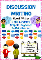 Discussion Writing | Text Structure | Self-Reflection | Fluent Writer